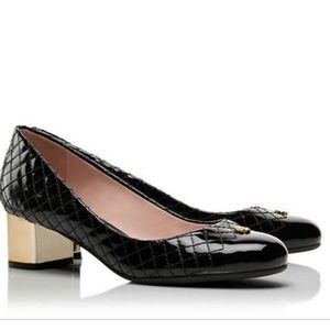 Tory Burch Kent Pumps with gold heel